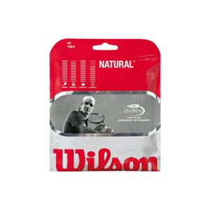 ウィルソン/WILSON NATURAL 16・17(WRZ9246/WRZ9247)【テニスストリングス・ガット(ナチュ...