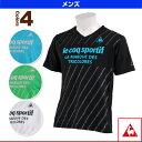 《セール30%OFF》 Vネック半袖シャツ/メンズ - QB-010243 [トレーニングウェア(メンズ/ユニ) ルコック] 【メンズ/ユニセックス 男女兼用】