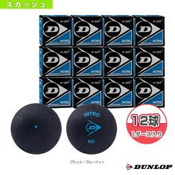 『12球単位』INTRO/イントロ/(DA50032)《ダンロップ スカッシュ ボール》