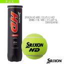 SRIXON HD 4球入(スリクソン HD)『缶単位(1缶/4球)』テニスボール(SRXHD4TIN)《スリクソン テニス ボール》 その1
