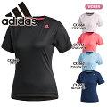 アディダス【adidas】レディース半袖TシャツワンポイントロゴEUD14ランニングジョギング