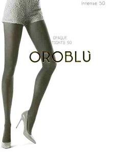 【メール便OK】OROBLU/オロブル[インポート・タイツ/イタリア製]透け感なし、着ぶくれしない。フィット感がすばらしい。オロブル/インテンス50