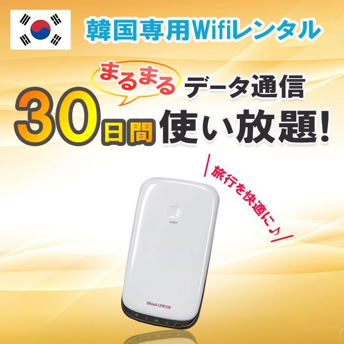 【レンタル】韓国 WiFi 30日間 データ無制限 モバイルWi-Fi pocket wifi ルーター ワイファイ 高速インターネット korea kankoku ソウル 済州島 海外旅行 土日もあす楽【父の日 ポイント10倍】