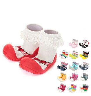蹣跚學步嬰兒鞋律 Attipas 嬰兒鞋供應訓練鞋,可愛的動漫/漫畫步行支援芭蕾舞嬰兒鞋兒童鞋男孩女孩胸花賽車鞋嬰兒鞋 c91203339 AAB02 天空 AP01
