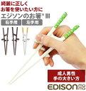 エジソンのお箸1 すぐに使えるお箸 右手用 ブルー【プラチナショップ】【プラチナSHOP】