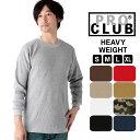tシャツ メンズ 長袖 定番 ブランド プロクラブ 黒 ブラック アメカジ おしゃれ リブ 長袖tシャツ 大きいサイズ シンプル 無地 厚手 トップス サーマル 白t ロングスリーブ グレー ビッグサイズ Sサイズ 小さめ 大きめ XL 大きなサイズ