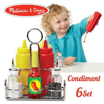 【ラッピング無料・のし対応】メリッサ&ダグ (Melissa & Doug) 調味料セット おもちゃ ままごと 知育玩具 MD9358 J37065 0811207 5P01Oct16