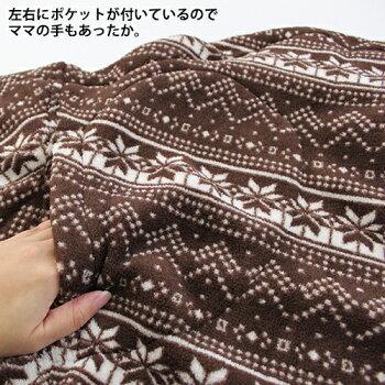 【44%OFF】バディバディbuddybuddyプリントフリースMabyケープ防寒授乳カバーケープ
