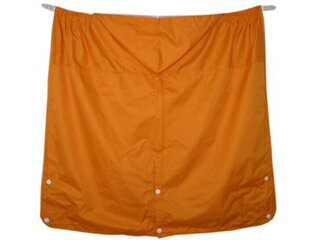 【送料無料】BuddyBuddy4WAYレインケープオレンジ抱っこ紐おんぶラッキー工業