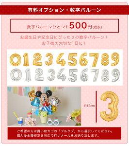 バルーン/誕生日/結婚式≪送料無料3,570円≫ディズニー(Disney)バルーンポット!女の子も男の子も選べる全23種♪メッセージ無料/名入れ可/数字バルーン追加可