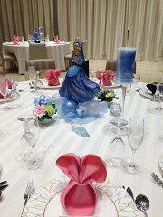 結婚披露宴 シンデレラバルーンドール テーブル演出セット