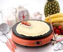 セントラル/CENTRAL 電気クレープメーカー「ドレミ♪」手作りミルクレープに挑戦♪お家がクレープ屋さんに大変身!!パンケーキ、ホットケーキ作りにもオススメの電気クレープパンです♪