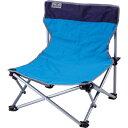 カワセ/バンドック ローチェア ブルー BD-117BL (キャンプ用品・アウトドア用品・イス・椅子・レジャー用品) その1