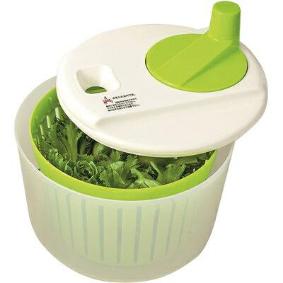 ヒロショウ 野菜の水切り器 ベジシャキ YMV-205 (日本製・サラダスピナー・回転・HIROSHO)