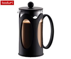 ボダム/bodum ケニア フレンチプレス コーヒーメーカー (3カップ用) 0.35リットル 10682-01 [n]