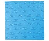 MOTTAINAI 綿もったいないふろしき 超撥水 雨と水 CE14-010-02 (ふろしき・風呂敷・綿100%・日本製・国産・ギフト・贈り物) [E14]