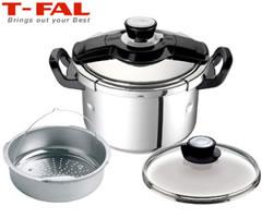 【送料無料】ティファール(T-FAL)白米が約8合もふっくら炊けて、さらに!電磁調理器(IH)に...
