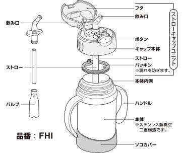 【FHIソコカバー】 部品 (サーモス/THERMOS 真空断熱ベビーストローマグ「水筒」用部品・底カバー)