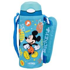 サーモス/THERMOS 真空断熱ストローボトル FHL-400FDS ライトブルー (水筒・保冷専用・0.4L・400ml・ディズニー・Disney・ミッキーマウス)