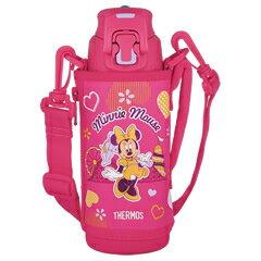 サーモス/THERMOS 真空断熱スポーツボトル FFZ-502FDS ピンクパープル (水筒・魔法瓶・保冷専用・0.5L・500ml・ディズニー・Disney・ミニーマウス)