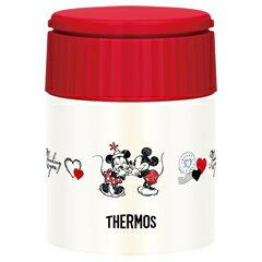 サーモス/THERMOS 真空断熱スープジャー JBQ-300DS ネイビーレッド (お弁当箱・ステンレス製魔法瓶構造・フードコンテナー・ディズニー・Disney)
