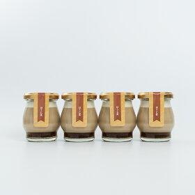 ギフトLucolletルコレ豆乳プリンほうじ茶4個入り、豆乳プリン、プリン