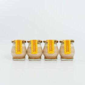 ギフトLucolletルコレ豆乳プリンキャラメル4個入り、豆乳プリン、プリン