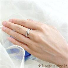 【プラチナ】pt9000.5ctテンダイヤモンドリング(指輪)『RunaMarie』【結婚記念日】【10石ダイヤモンド】0.5カラット[無色透明F~Dカラ-SIクラスGOOD~VERYGOOD]【%OFF】【送料無料】【_包装】【_メッセ】
