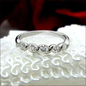 ダイヤモンド エタニティリング セッティング カラット グラデーション