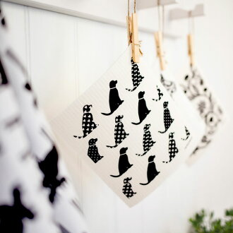 Nordic design sponge wipe 2 pieces (Bengt and Lotta) (cloth dish towel) klippan ( KLIPPAN ) 10P_021510P13oct13_b