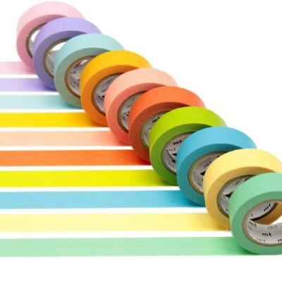 色とりどりのテープ