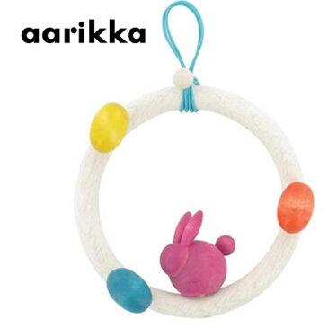 フィンランド アーリッカ aarikka PUPUN SEIKKAILU うさぎデコレーション クリスマスギフト 【お取り寄せ3〜5日】