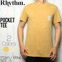 【送料無料】 Rhythm リズム POCKET TEE 半袖Tシャツ JAN19M-PT03