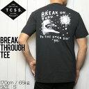 [クリックポスト対応] TCSS ティーシーエスエス BREAK THROUGH TEE 半袖Tシャツ TE18155