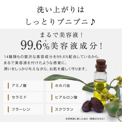 【プリュアミノモイスチュアクレンジングジェル(300g)】