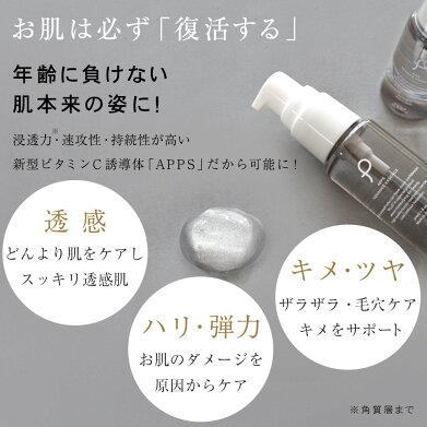美容液ビタミンC誘導体【プリュAPPSアドバンスエッセンス(30ml)】