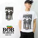 ボブ・マーリー/Bob Marley I SHOT THE SHERIFF Tシャツ WHITE ホワイト ベーシック ロックT バンドT レゲエ メンズ トップス 半袖 正規品 本物【ネコポス発送のみ送料無料】