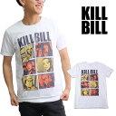 キル・ビル/Kill Bill COMIC WHITE S/S TEE キル・ビル 映画 メンズ Tシャツ 半袖 トップス クルーネック カジュアル 人気 ロックT コットン【ネコポス発送】 1
