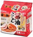 【Go In Eat】アイリスオーヤマ 豪麺 醤油らーめん5食入り×6袋セット
