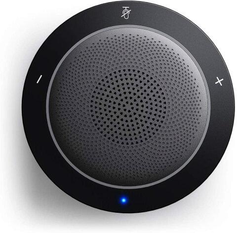 Kaysuda USBスピーカーフォン マイクスピーカー USBマイクロホン 双方向通話対応 PCスピーカーマイク 全指向性集音マイク ZOOM・Web会議・ミーティング・ビデオチャット・VoIP通話やWindows Liveメッセンジャー・Skype通話などに対応 USBモデル(ブラック)