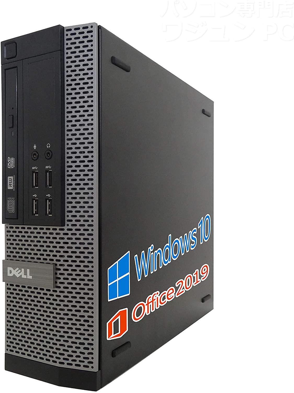 パソコン, デスクトップPC Go To SMicrosoft Office 2019Win 10DELL 3020Core i3-4130 3.4GHz:8GBHDD:1TBDVDUSB 3.0 (HDD:1TB) ()