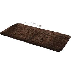 山善(YAMAZEN)洗えるどこでもカーペット(180×80cm)フランネル仕上げ室温センサー付ブラウンYWC-182F(T)