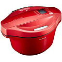 シャープ ヘルシオ(HEALSIO) ホットクック 水なし自動調理鍋 2.4L 大容量タイプ レッド KN-HT24B-R