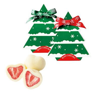【プチギフト】クリスマスツリー ドライ苺チョコレート