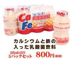 カルシウムと鉄の入った乳酸菌飲料