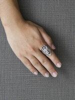 Dropkickjewelry[KissofDeath](シルバーアクセサリー/シルバーアクセ/シルバー/シルバー925/Silver925/銀/ドロップキック/リング/指輪/メンズ/ユニセックス/スカルリング)
