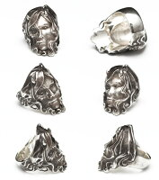 Dropkickjewelry[Lust](シルバーアクセサリー/シルバーアクセ/シルバー/シルバー925/Silver925/銀/ドロップキック/リング/指輪/メンズ/ユニセックス)