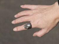 Dropkickjewelry[Ringofthedead2](シルバーアクセサリー/シルバーアクセ/シルバー/シルバー925/Silver925/銀/ドロップキック/リング/指輪/メンズ/ユニセックス/ゾンビ/スカルリング/)