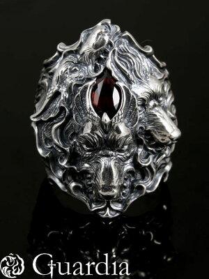 Guardia【Kerberos [ The Ring Of Echidna Trilogy - I ]】 (シルバーアクセサリー/シルバーア...
