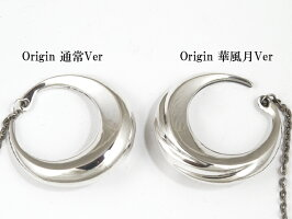 CharisLefthandedmaterials[Origin](シルバーアクセサリー/シルバーアクセ/シルバー/シルバー925/Silver925/銀/カリス/ペンダント/ネックレス/メンズ/ユニセックス/月)